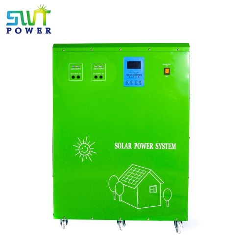 All in one, Solar power system