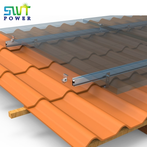 Tile roof mounting system
