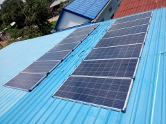 Cambodian Household Solar Power Generation