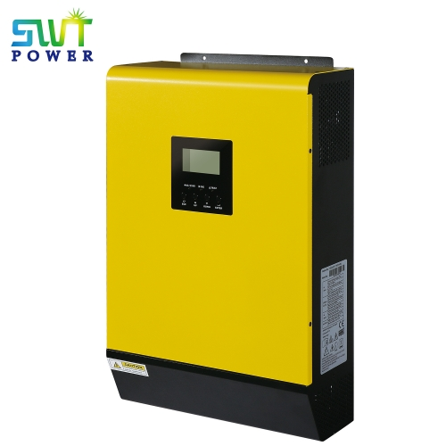 5kw ON-Grid PV Inverter with Energy Storage with parallel up to 9 units yellow color
